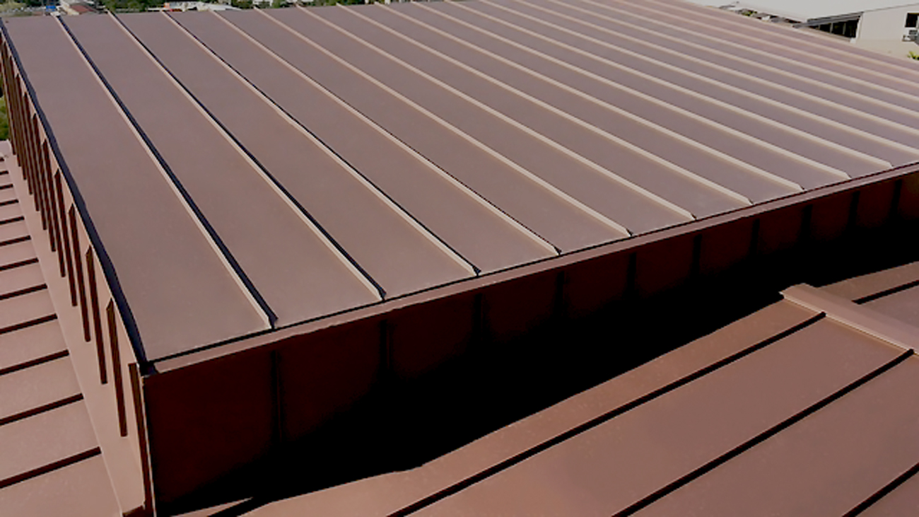 double lock standing seam system