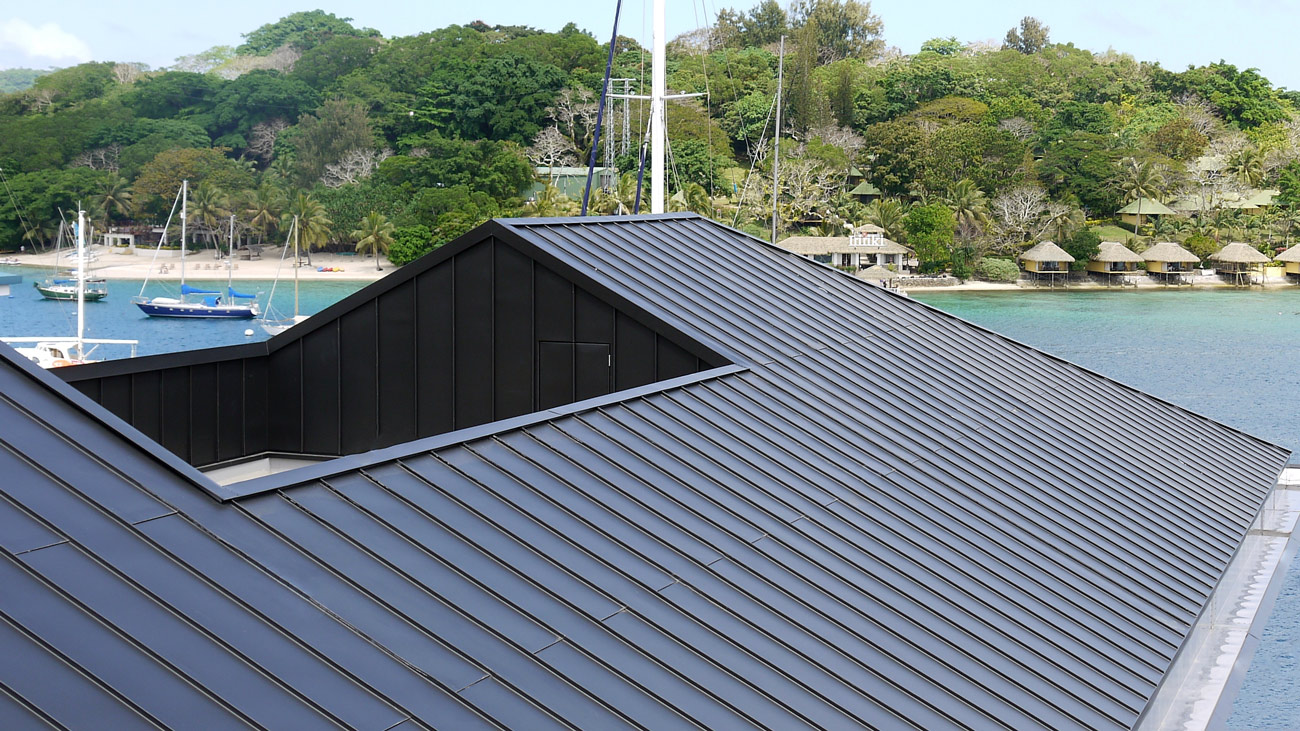 Double Lock Standing Seam Metal Roofing