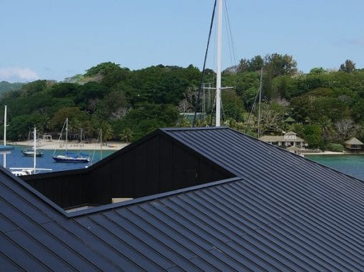 ZINC ANTHRA STANDING SEAM ROOF
