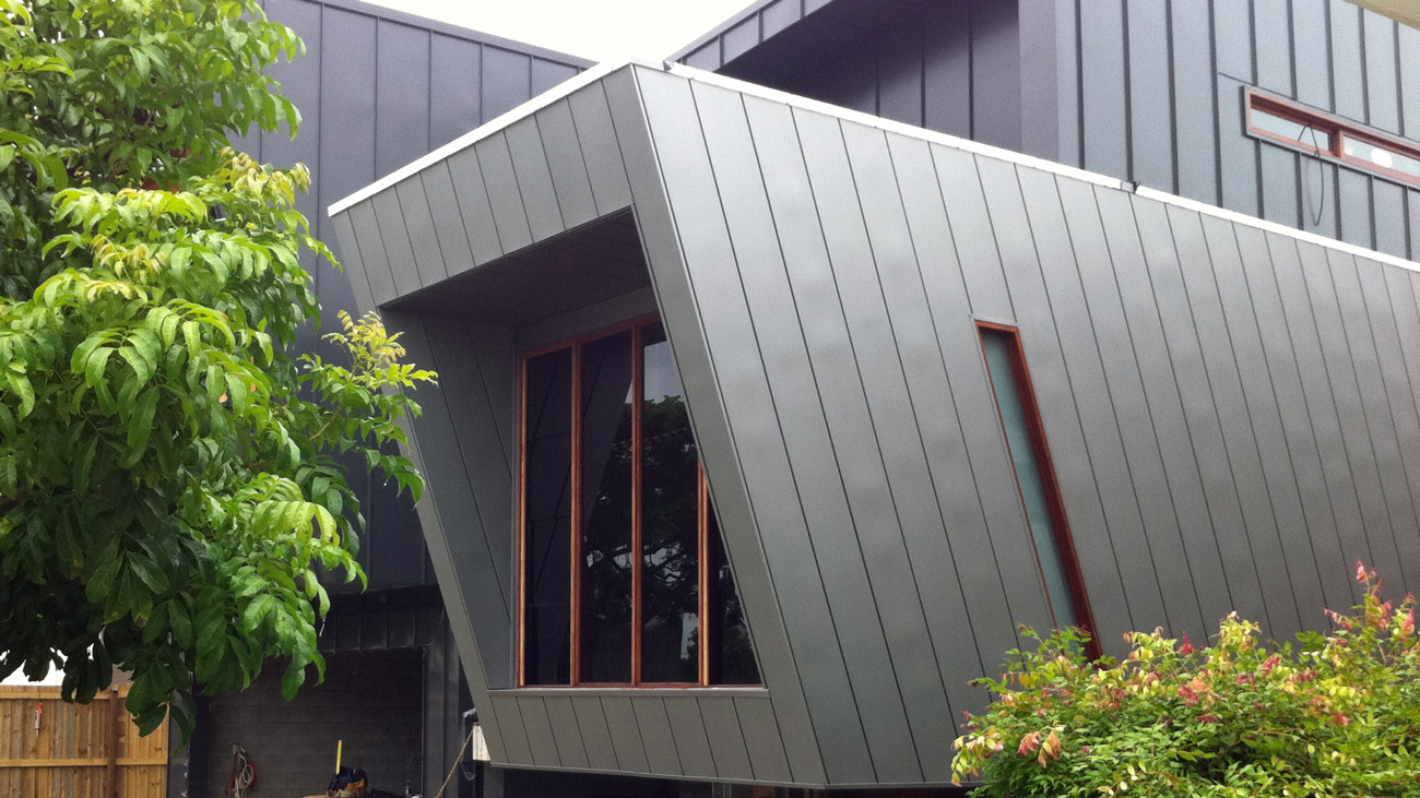 copper cladding Byron Bay