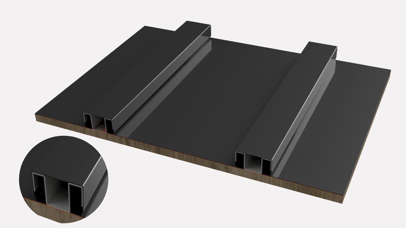 Batten cap Roofing Solution