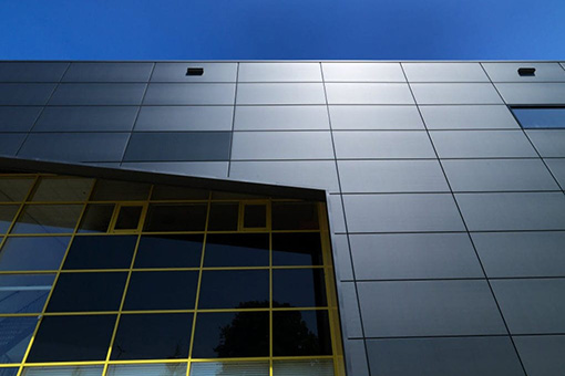 Facade sandwich panel / cladding / panel / with aluminum facing